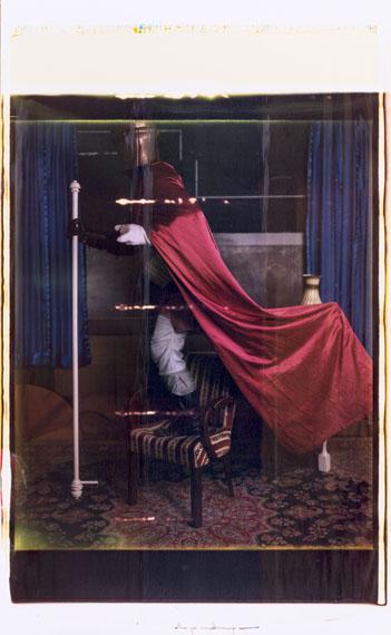 Se king - director's shot No 12, Polaroid Positiv 103 x 56 cm, 2017 © Thorsten Brinkmann
