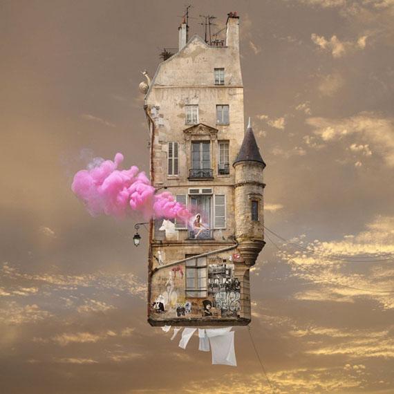 Laurent Chéhère: Pink, 2017, 120 x 120 cm