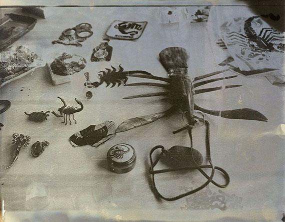 Sigmar Polke, Ohne Titel (Skorpione), 1975Fotografie Sammlung Lambrecht-Schadeberg/ Rubenspreisträger der Stadt Siegen © 2018 The Estate of Sigmar Polke / VG Bild-Kunst, Bonn