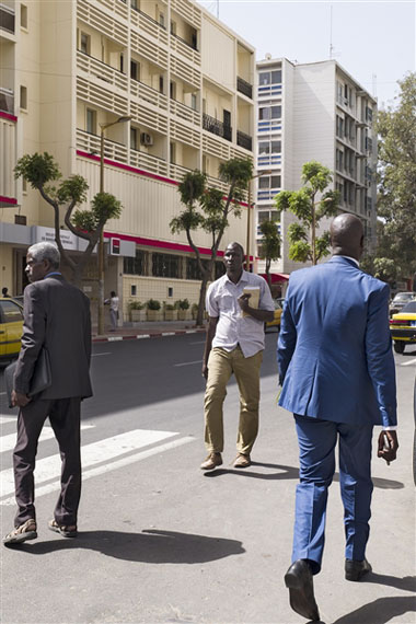 Avenue du President Leopold Sedar Senghor, Dakar 2017, 2017Pigment ink on cotton paper135 x 90cm© Courtesy of Stevenson, Cape Town and Johannesburg