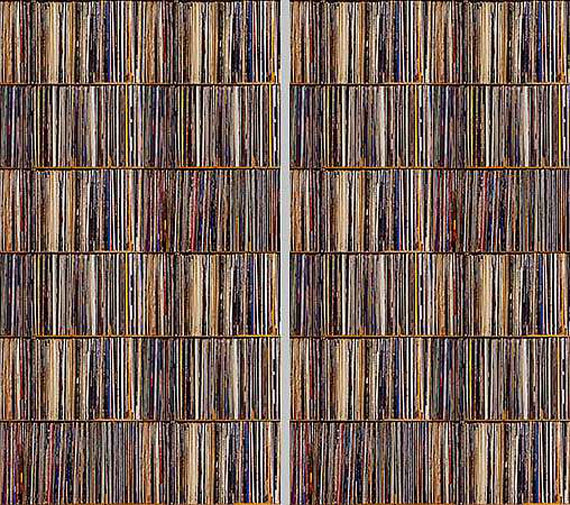 Krystyna ZiachEPHEMERAL LIBRARY XIII 2017Lambda Print70 x 125 cmEd 5Courtesy Galerie Fontana