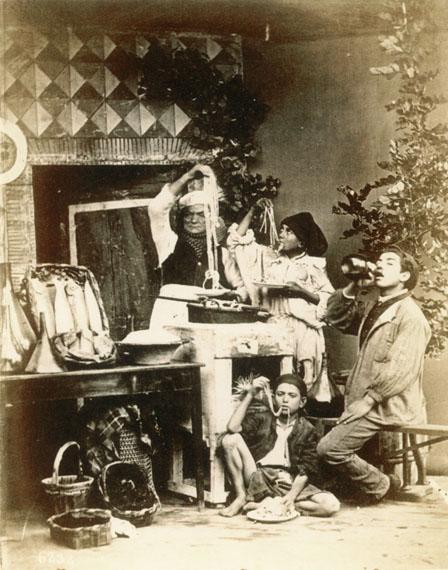 Giorgio Sommer: Mangiatori di Maccheroni, um 1870