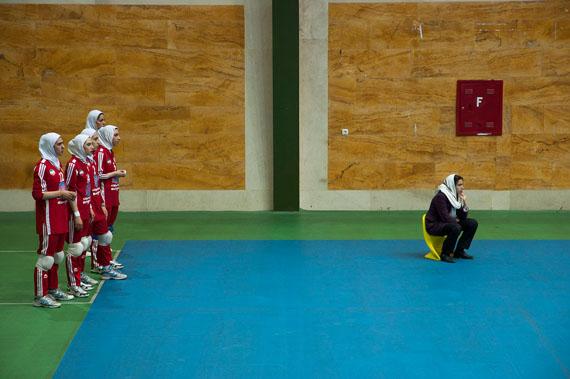 Linda Dorigo, Volleyball Iran, digital photography, 2010
