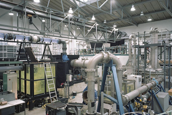 Stefanie Bürkle: Werkhalle Fluidsystemdynamik / Production Hall, Fluid System Dynamic,Technische Universität Berlin© Stefanie Bürkle / VG Bild-Kunst Bonn, 2019