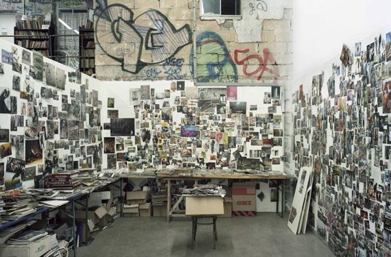 Stefanie Bürkle: Atelier / Studio Jonas Burgert © Stefanie Bürkle / VG Bild-Kunst Bonn, 2019