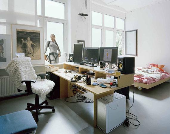 Stefanie Bürkle: Atelier / Studio Bjørn Melhus© Stefanie Bürkle / VG Bild-Kunst Bonn, 2019