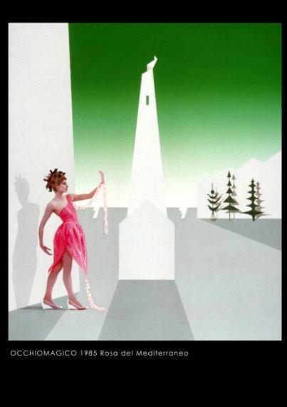 Occhiomagicola rosa del mediterraneo, 3, 1985Sabrina Raffaghello Arte Contemporanea