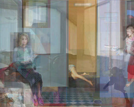 "Catherine Balet: from the series ""Moods in a Room"""