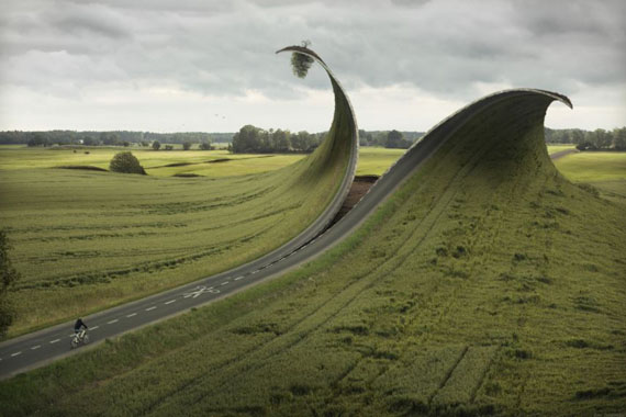 Erik Johansson, Cut and Fold 2012
