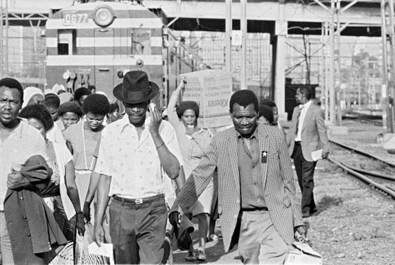 From the Series Train Church. Photograph by Santu Mofokeng (b.1956) © Santu Mofokeng Foundation. Image courtesy of Lunetta Bartz, MAKER, Johannesburg and Steidl GmbH.