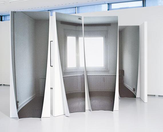 """Susa Templin: Totale Wohnung, aus der Serie: Begehbarer Raum aus der Werkgruppe """"Totale Wohnung"""", 2011-2013"""