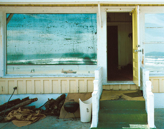 Alfred Seiland, Strandreflexion, Daytona Beach Shores, Florida, 1982