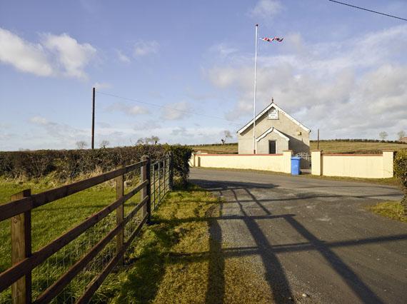 Roland Iselin: Union Jack Flag on Orange Hall, County Down, 2018