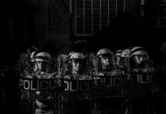 Sao Paulo, Bzazil, 2014, Scene #8040 © Alex Majoli / Magnum Photos