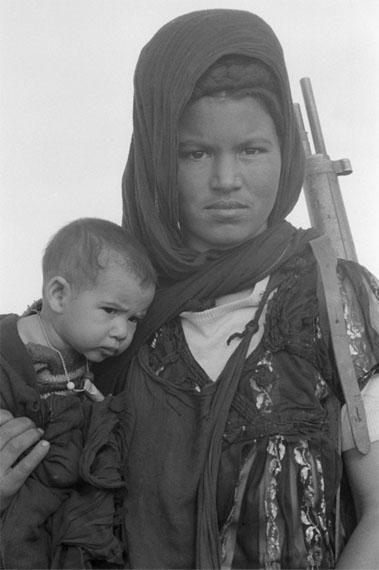 Christine SpenglerNouenna, fighter of the Polisario Front, The Western Sahara, 1976Gelatin silver print50 x 60 cm© Christine Spengler, Paris