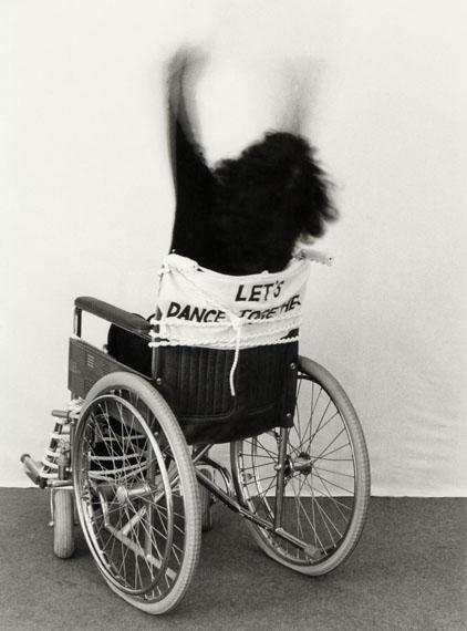 Renate Bertlmann, Let's dance together, 1978, black-and-white photograph© Renate Bertlmann/Bildrecht Wien