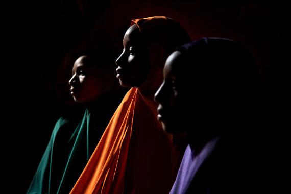 Nigerian Child brides Yagana, Yakaka and Falimata  ©  Stephanie Sinclair 2010