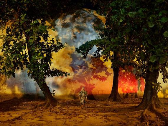 Evangelia Kranioti, Apenas sonhei com o mundo mas jamais o vi, from the Obscuro Barroco series.