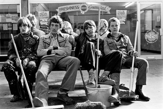 Tish Murtha, Youth Unemployment, 1981 © Ella Murtha, All rights reserved