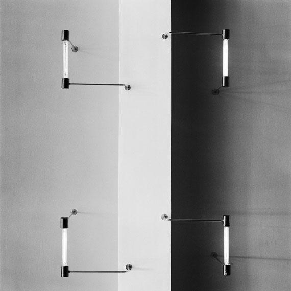 Ceiling with tubular lighting system (design max krajewski), Bauhaus Dessau, 2005 © Fotografie Stefan Berg / Entwurf Gebäude Walter Gropius VG Bildkunst