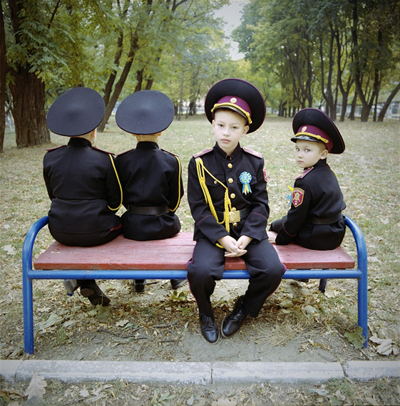 Young Cadets, Ukraine 2015. from the series How to dance the waltz © Michal Chelbin
