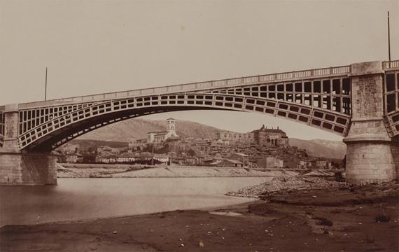 Édouard BaldusViaduc de le Voulte, 1861 or laterAlbumen silver print from a collodion on glass negative10 13/16 × 17 in, 27.5 × 43.2 cmRobert Koch Gallery, San Francisco