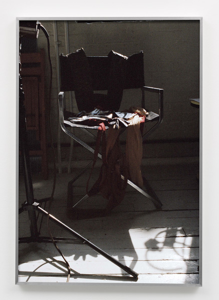 Studio Chair, 2018Inkjet print 81.5 x 56.1 cm, framedEdition: 4 + 2 AP© Talia ChetritCourtesy the artist; Sies + Höke, Düssseldorf