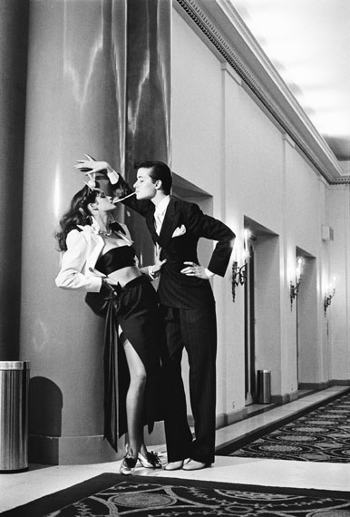 Helmut Newton: Fashion Yves Saint Laurent, French Vogue, Paris 1979