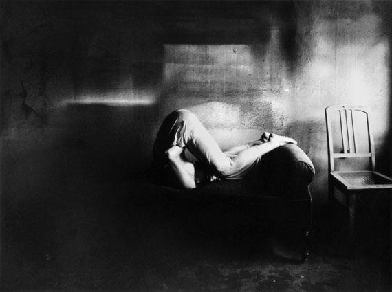Karin Székessy: Jutta auf dem Sofa, 1967