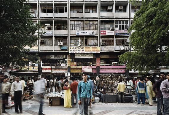 © Patrick Tourneboeuf -India