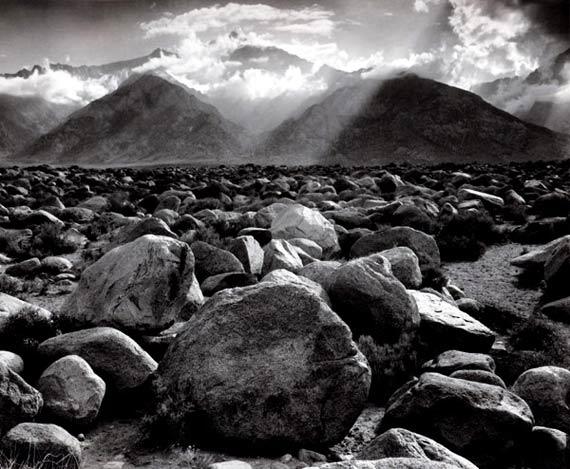Ansel AdamsMount Williamson, Sierra Nevada, from Manzanar, California 1944Gelatin silver printCourtesy ATLAS Gallery London