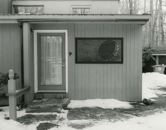 MARK RUWEDELWalker Evans House #520187 7/8 x 10 in on 11x14 in paperGelatin silver printCourtesy the artist and Large Glass, London