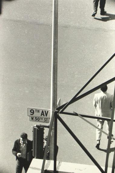 Saul Leiter, New Yorker, 1950er © Saul Leiter Foundation