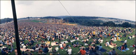 © Elliott LandyWoodstock Festival 1969, NY