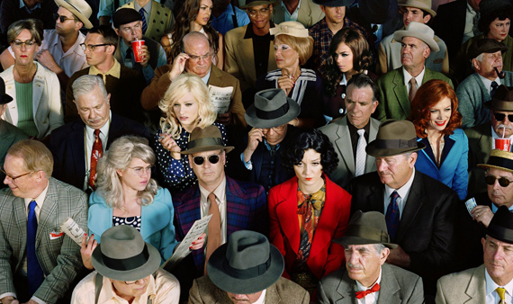 Crowd #1 (Stan Douglas), from the series Long Week-End, 2010 © Alex Prager. Courtesy Alex Prager Studio and Lehmann Maupin, New York, Hong Kong and Seoul.
