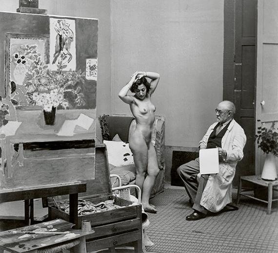 Henri Matisse with his Model, 1939 © Estate Brassaï Succession, Paris