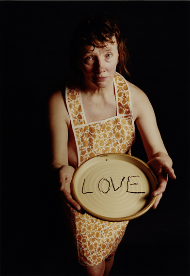 JO SPENCE, PHOTO THERAPY: LOVE ON A PLATE (COLLABORATION WITH TIM SHEARD), 1989