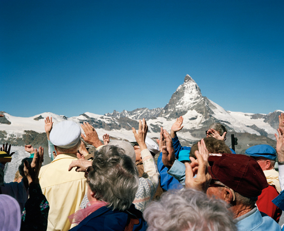 The Matterhorn, Alps, Switzerland, 1990 © Martin Parr / Magnum Photos