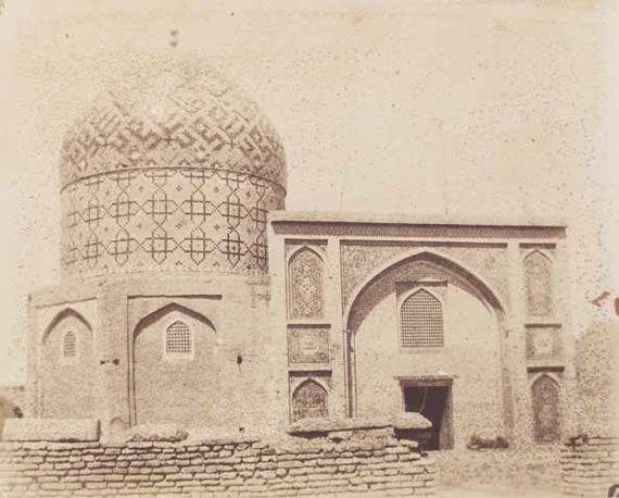 276 Mendel Diness (1827-1900) - Luigi Pesce (1828-1864) Palestine. Iran, c. 1857-1858.Album composed of 51 salt paper prints.