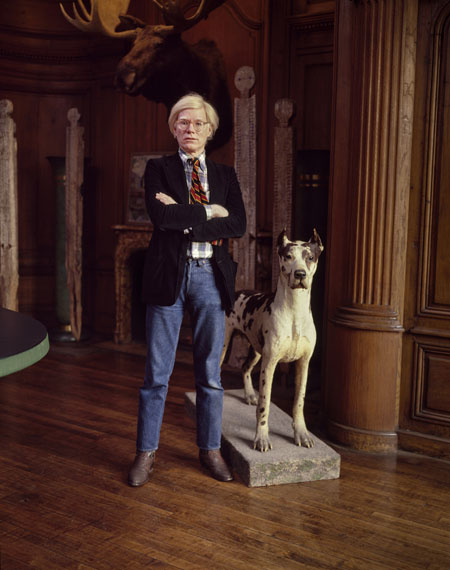 © Estate Evelyn Hofer, Andy Warhol, New York, 1980, Galerie m, Bochum