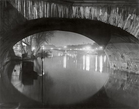 View through the pont Royal toward the pont Solferino, c 1933 © Estate Brassaï Succession, Paris