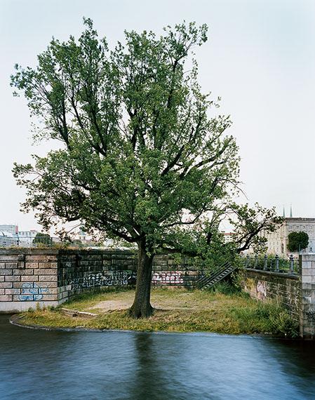 Lorenz Kienzle: Standort des Café Helms an der Schleusenbrücke von 1883-1893, 2011