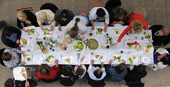 Second Lunch in Public Space for Common Place, 2010 © Nohra Haime Gallery, Ruby Rumié & Justine Graham