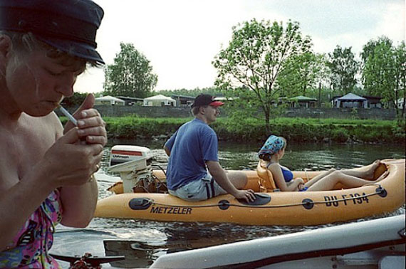 """Brigitte Kraemer: aus der Serie """"Camper an der Ruhr"""", 2000"""