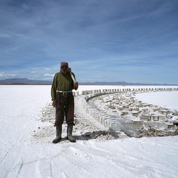 Salt miner, Salar de Uyuni, Bolivia from The Edge of Knowing © Magda Biernat