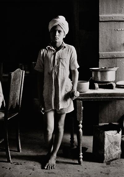 Jeune sikh a Amritsar, Inde, 1955.Denis Brihat