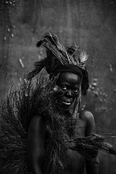 Isiqhaza I, Philadelphia, 2018, 2018Silver gelatin print90 x 60cm© Zanele Muholi. Courtesy of Stevenson, Cape Town and Johannesburg