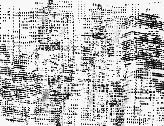 Walter Schels: NEW YORK TRANSFORMATIONS o.T, Doppelbelichtung, 1967, Pigment Print, 100 x 130 cm