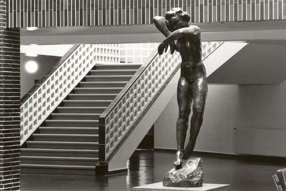 Christian Borchert: Georg Kolbe, Nacht (1926/30), Haus des Rundfunks, Berlin-West, 1988© SLUB Dresden, Deutsche Fotothek
