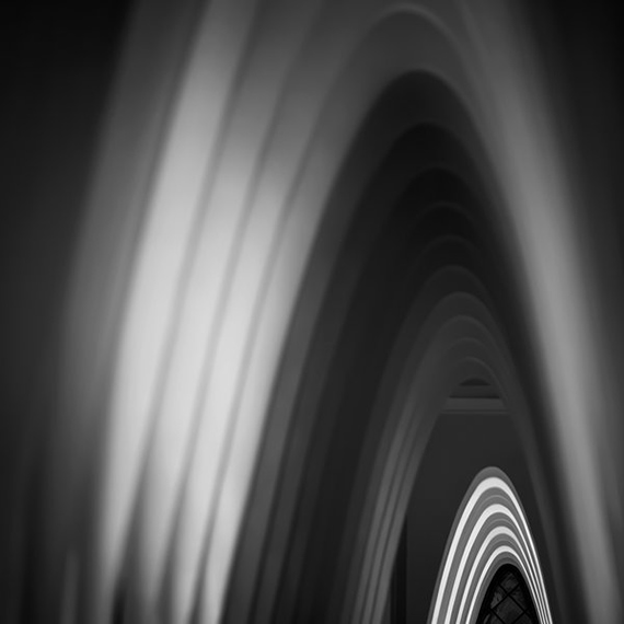 Gaudí 011, 2018, 14,5 x 14,5 cm, print on aluminum© Aitor Ortiz